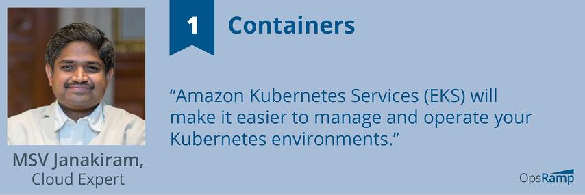 Expect New Services And Tooling For Containers