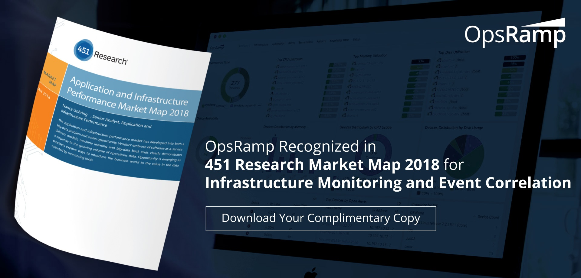 Get the 2018 Application and Infrastructure Performance Market Map!