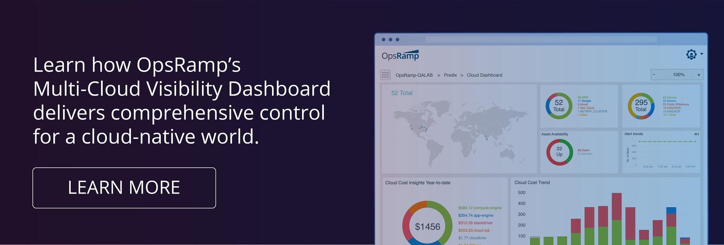 Multi-Cloud Visibility Dashboard