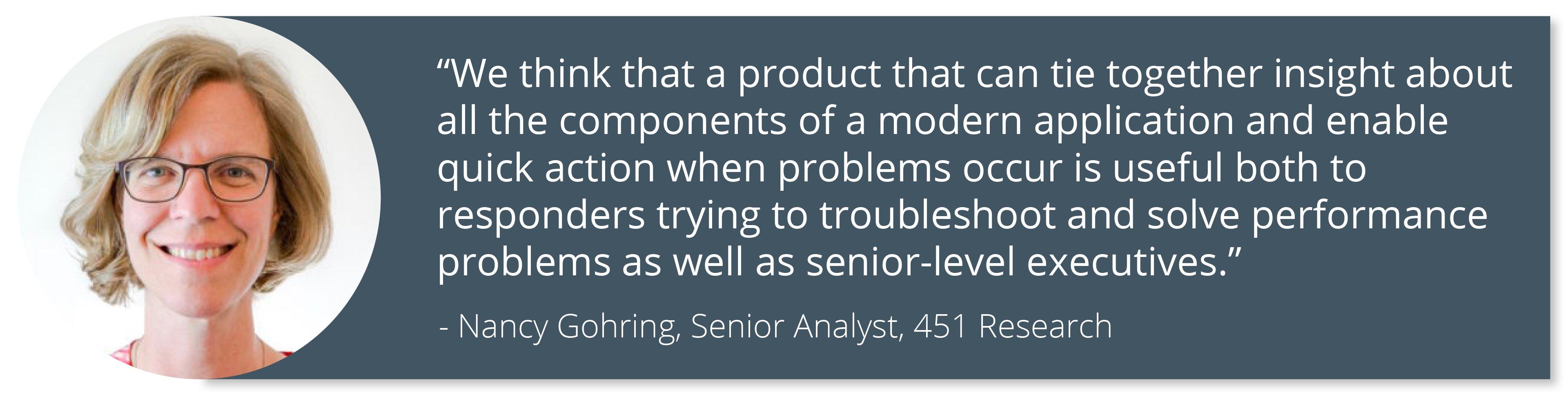 Nancy Gohring, Senior Analyst, 451 Research