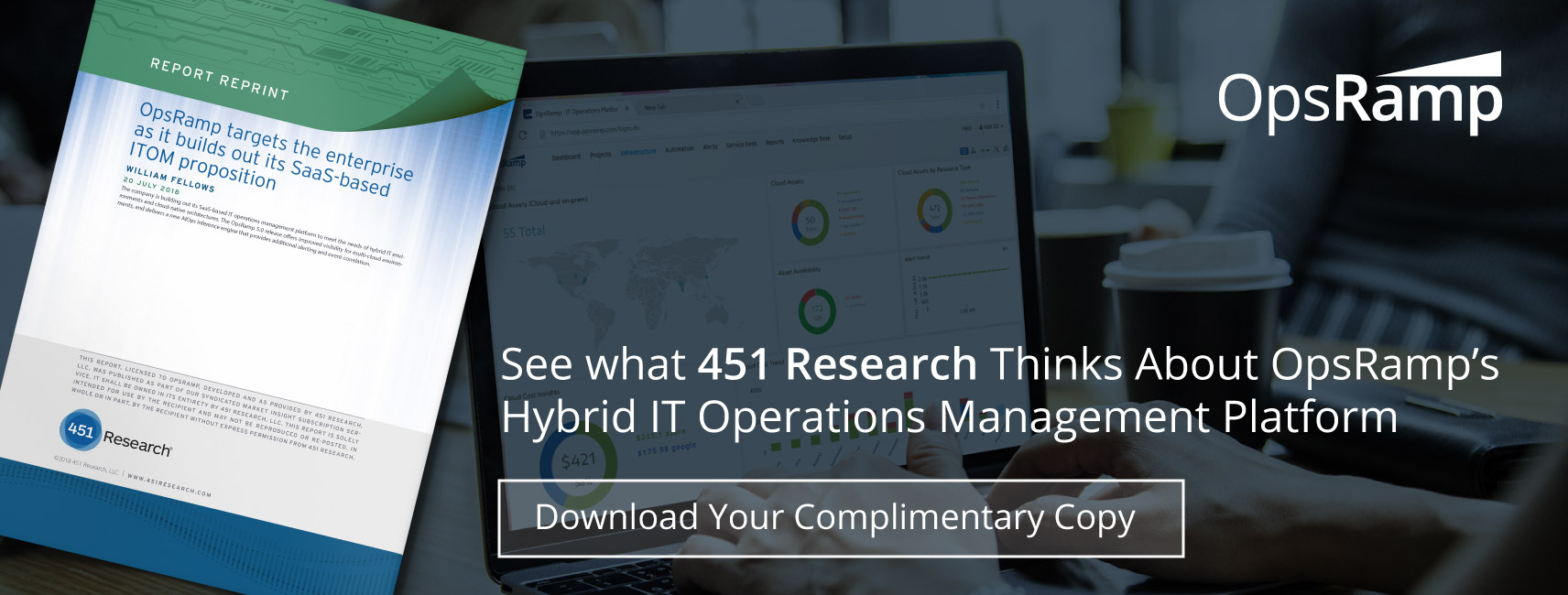 [451 Research] Hybrid IT Operations Management Report
