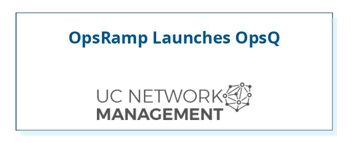OpsRamp-UCNetwork-Management