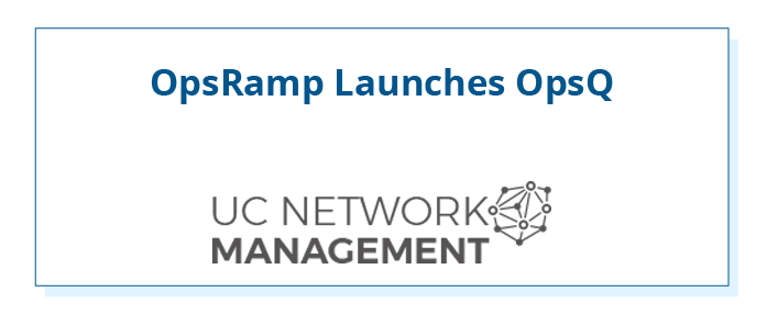 OpsRamp-UCNetwork-Management