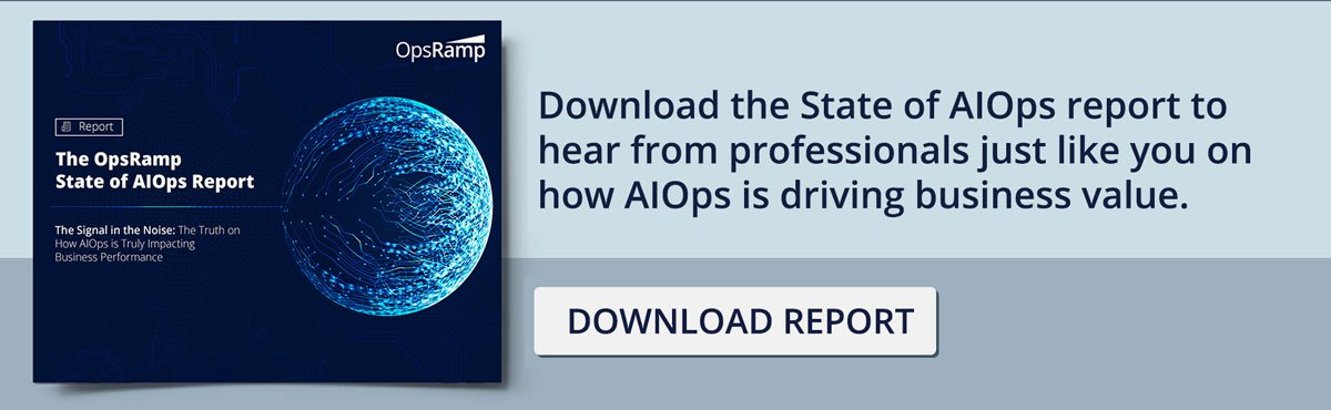 State of AIOps report - CTA