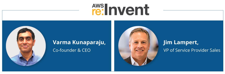 Meet Varma & Jim at AWS re:Invent