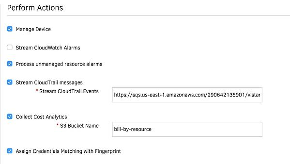 Stream CloudTrail Alarms Into OpsRamp