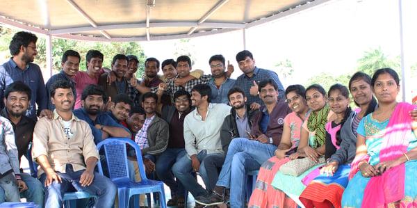 Our Bhimavaram Team At A Team Outing
