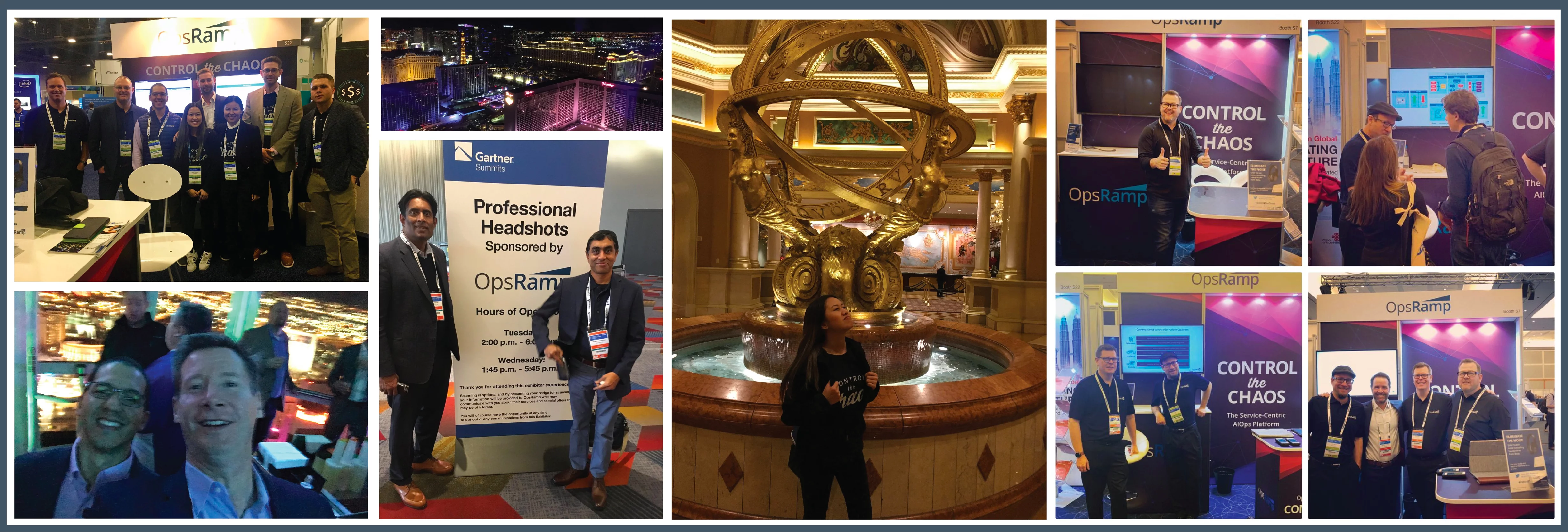 OpsRamp at Gartner IOCS London and Las Vegas