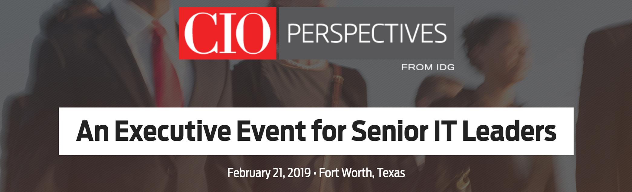 Attend CIO Perspectives