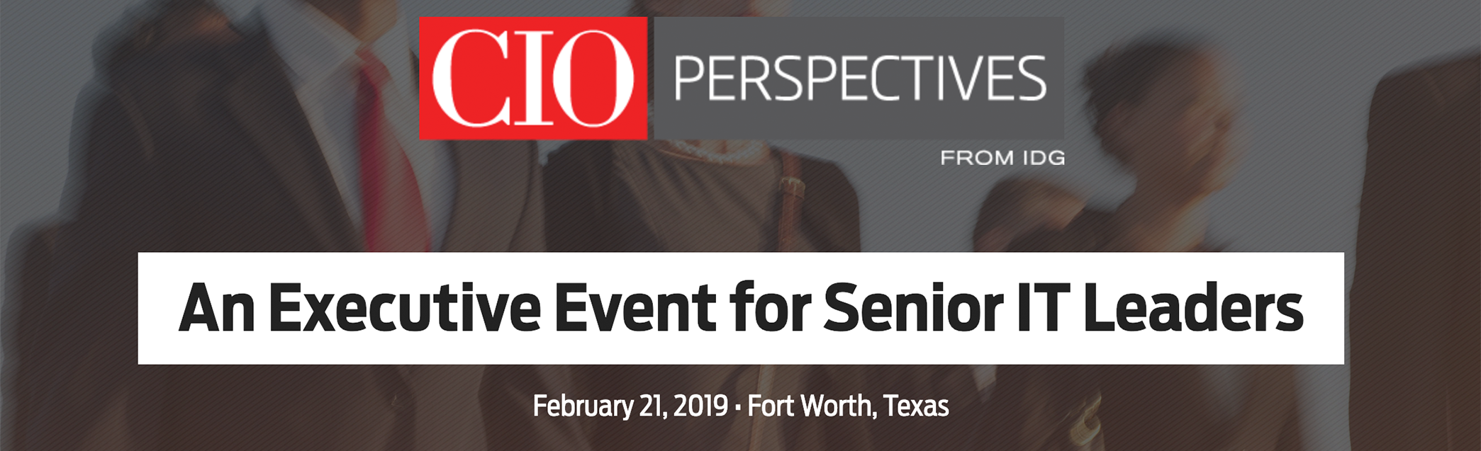 Attend CIO Perspectives