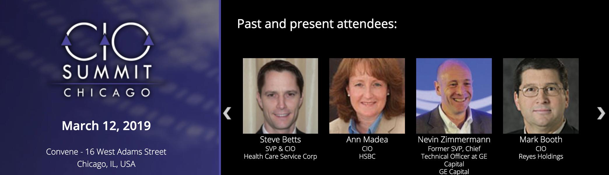 Attend the CDM CIO Summit