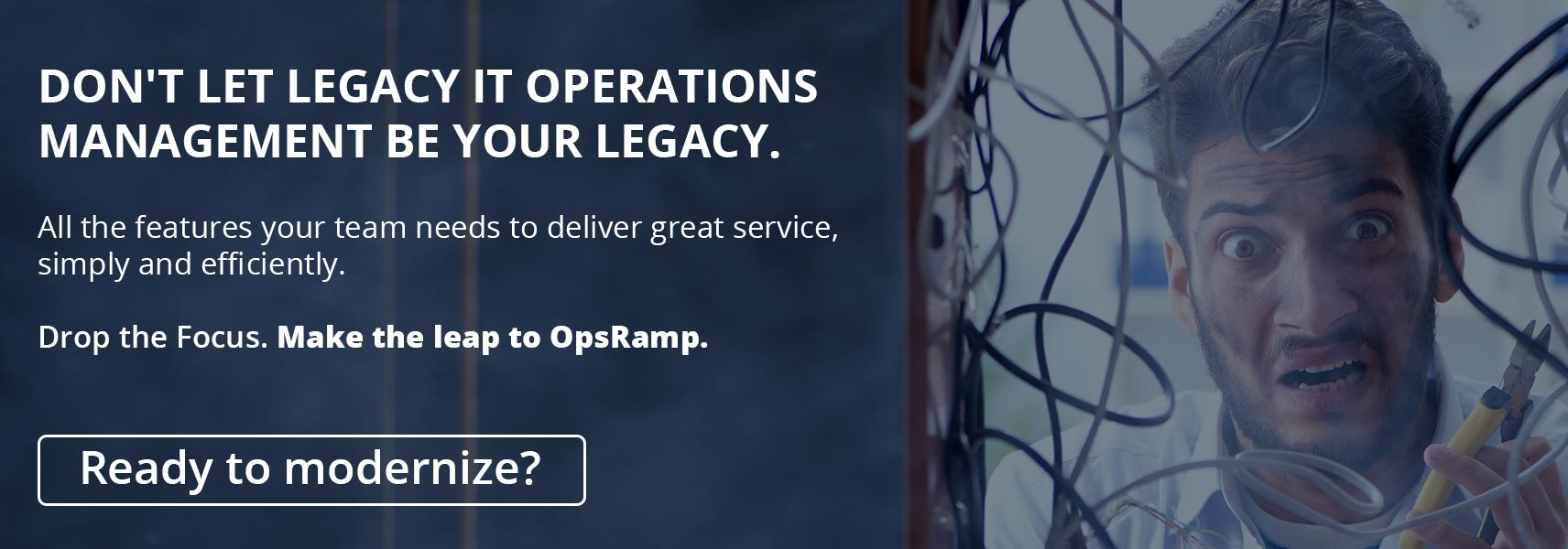 It's Time To Switch From Micro Focus Operations Bridge!