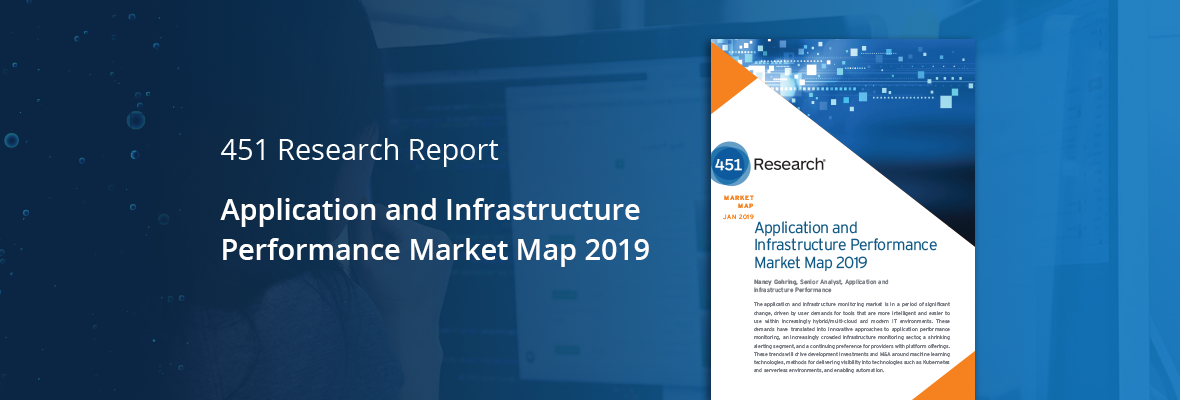 [Industry Recognition] OpsRamp Gains Ground in 451 Research's 2019 Market Map for Application and Infrastructure Performance