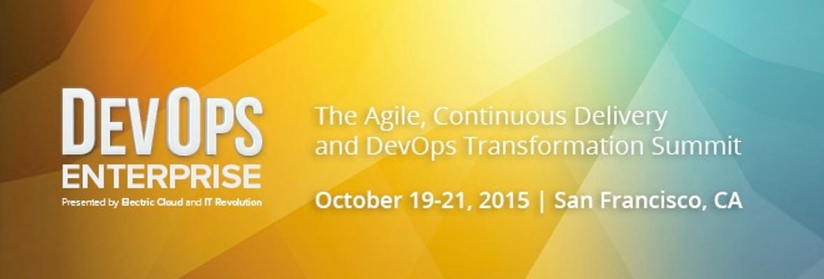 DevOps Enterprise Summit 2015でのVistara!