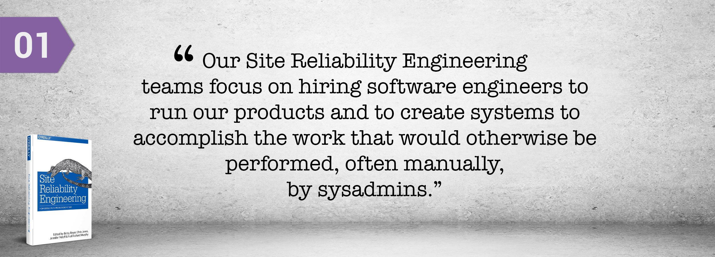 Site Reliability Engineering - Unique Hiring Approach