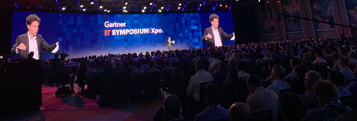 Malcolm Gladwell at Gartner Symposium: Fast Tech, Slow People