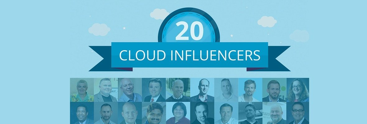 20 Things You Can Learn From The Best Cloud Influencers [Infographic]